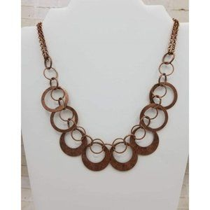 Paparazzi Copper Necklace and Earrings